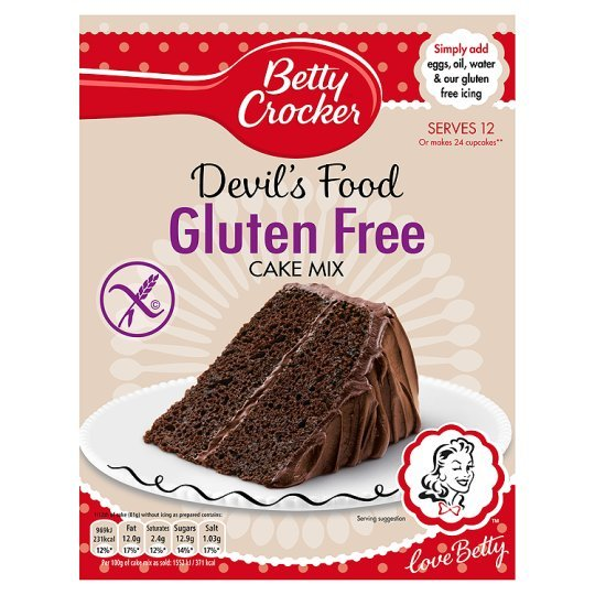 Gluten Free Cake Mix Sainsburys