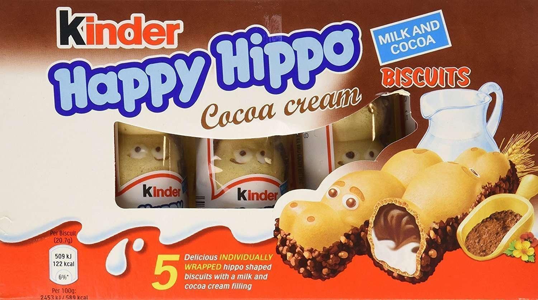 happy hippo kinder