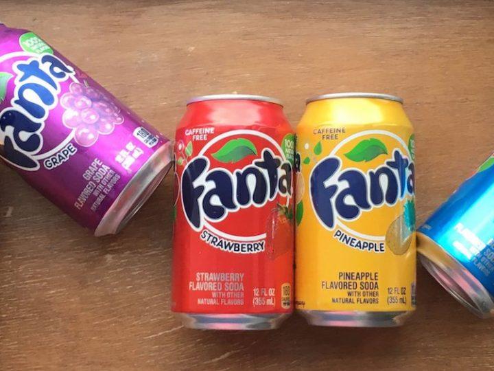 Bibite alla frutta: Coca Cola Cherry, Fanta Berry e molte altre