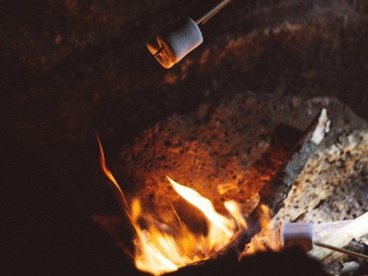 Marshmallow arrostiti: e l'inverno… si scalda!