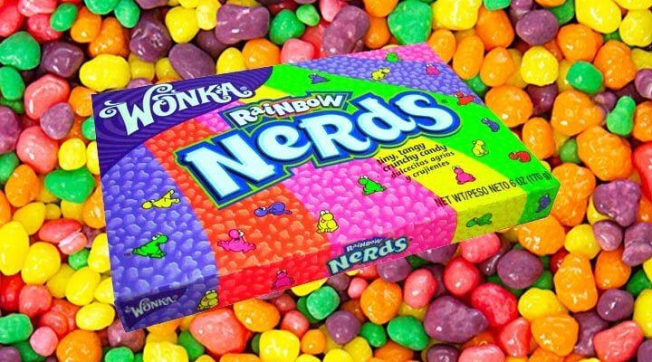 Caramelle Wonka: Nerds, Gobstopper e Laffy Taffy