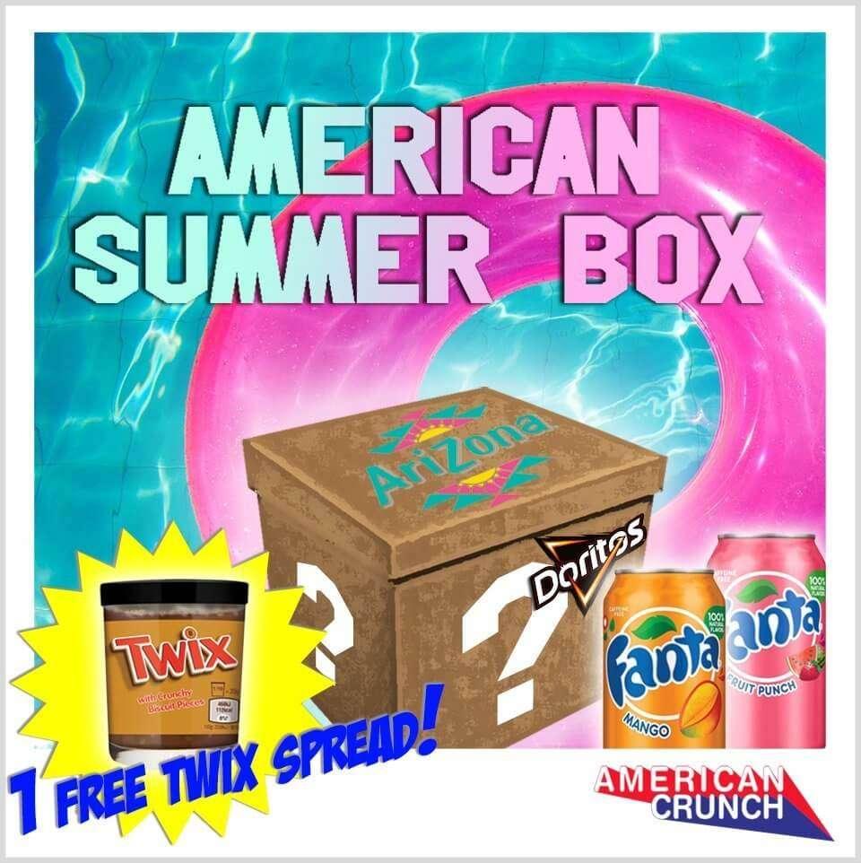 new product 70876 6e45c Mystery Summer Box - 1 crema Twix in REGALO - SPEDIZIONE GRATUITA