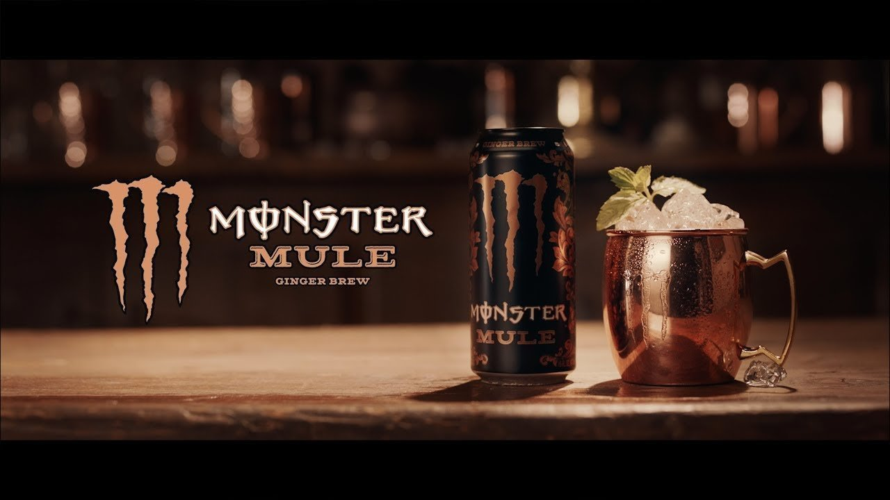 Lattine Monster Energy